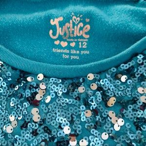 Justice Shirts & Tops - Girls Justice Winter top,Girls sweater